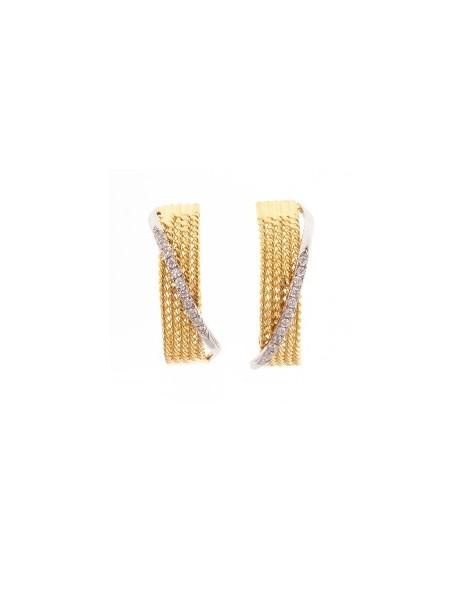 Σκουλαρίκια με Διαμάντια