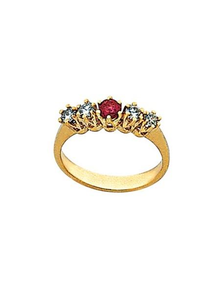 Δαχτυλίδι με Ρουμπίνι
